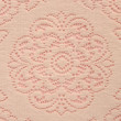 Soft lace doily on pink — Stock Photo