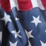 Vertical stripes of USA flag — Stock Photo