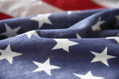Star field of USA flag — Stock Photo