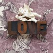 Cupid love word — Stock Photo #2512902