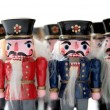 Nutcrackers group — Stock Photo