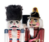 Three nutcrackers — Stockfoto