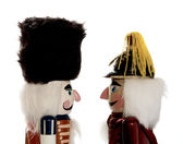 Two nutcrackers in profile — Stock Photo
