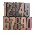 Wood numbers — Stock Photo #2575807