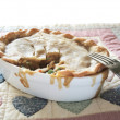 Stock Photo: Chicken potpie