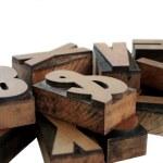 Wood type grouping — Stock Photo #2575863