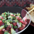 Avocado salsa - Stock Photo