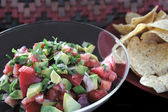 Avocado salsa — Stockfoto