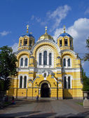 Old cathedral church in Kiev, Ukraine — Stock Photo