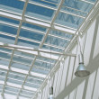 Stock Photo: Modern glass roof