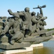 Monument great patriotic war - Stock Photo