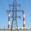 Stock Photo: Ecologically clepower station