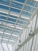 Moderne glasdach — Stockfoto