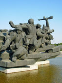 Monument great patriotic war — Stock Photo