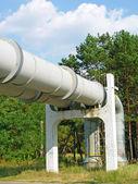 Underground thermal network — Stock Photo