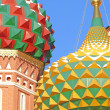 St. Basil's cathedral in Moscow — Stock Photo #2152693