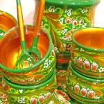 Retro kitchen utensils — Stock Photo