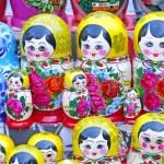 Russian dolls — Stock Photo