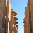 Karnak - ancient temple of Luxor — Foto Stock