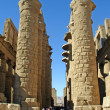Karnak - ancient temple of Luxor — Stock Photo