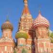 Stock Photo: St. Basil cathedral in Moscow, Russia