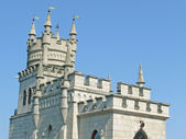 Medieval architecture of Crimea — Stock Photo