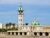 Hurghada, Egypt, neglected mosque — Foto Stock