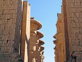 Karnak - ancient temple of Luxor — Stock Photo