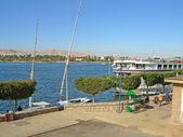 Afrika, egypt, luxor, Nil — Stock fotografie