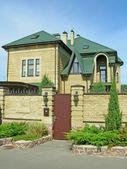 Bricks cottage — Stock Photo