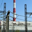 Heat electropower station — Stock Photo