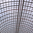 Colossal glass roof — Stock Photo