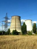 Electropower station — Stock Photo