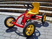 Child bicycle — Stock Photo