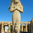 Stock Photo: Statue of Ramses II in Karnak temple
