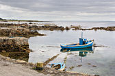 Boat on Galway Bay — Stock Photo