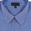 Blue Pinstriped Dress Shirt — Stock Photo