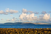 Galway Bay and Burren — Stock Photo