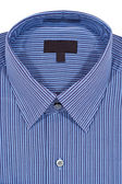 Blue Pinstriped Dress Shirt — Stock Photo