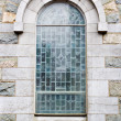 Foto Stock: Outside View of Church Window