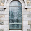 Stock Photo: Outside View of Church Window