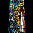 Royalty-Free Stock Photo: Religious Stained Glass Window