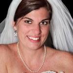 Portrait of a Bride — Stock Photo