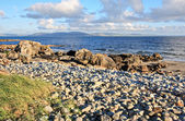 Galway Bay and The Burren — Stock Photo