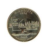 Minnesota Quarter — Stock Photo