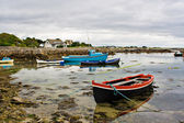 Boats on Galway Bay — Stock Photo