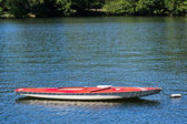 Boat on a Lake — Stock Photo