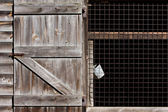 Barn and Bucket — Stock Photo