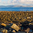 Galway Bay and Burren - Stock Photo