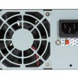 Stock Photo: Computer Power Supply and Fan